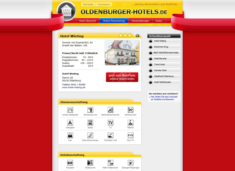 oldenburger hotels lueck media. Black Bedroom Furniture Sets. Home Design Ideas